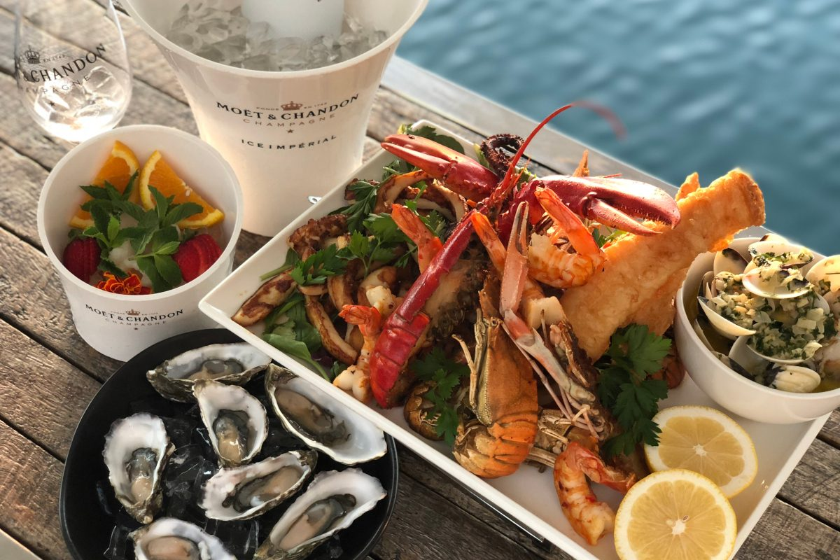 Marina Mirage Seafood Lunch