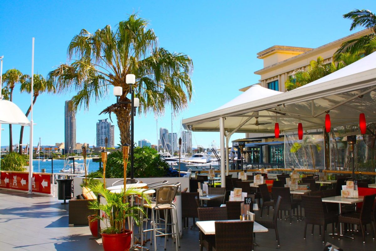 Lunch at Marina Mirage